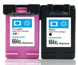 Remanufactured neue Versions-Tinten-Kassette für 664 XL das Chip zurückgesetzt, um für HP voll zu nivellieren