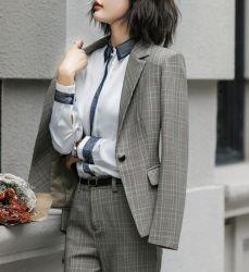 بدلة صغيرة ينابيع أنثى بدلة أزياء جديدة بدلة من الإناث مزاج مقابلة رسميّة عمل زي موحد أسوار