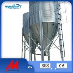 البيع الساخن عالي الجودة تغلفن آلات تربية المواشي الفولاذية تخزين التغذية سيللو سيلو تغذية سيلو
