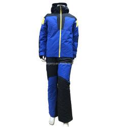 Высокое качество горячая продажа зимнего спорта на открытом воздухе водонепроницаемый мужчин лыжную куртру лыжный из двух частей и снег износа лыжный костюм