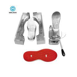 Fabricado en China los hombres zapatos PVC automático de TPR inyectar único servicio de inyección de la producción de moldes