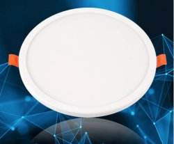 Встраиваемый светильник акцентного освещения индикаторы на панели управления 22W Безрамные круглый светодиодный Home Lighting Регулируемый размер отверстия затенения с изолированным открытым рабочим местом внешний драйвер потолочного освещения