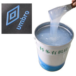 Industriales al por mayor de silicona líquida placa gruesa de Tintas para impresión textil