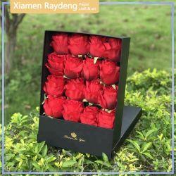 Raydeng bunte Blumen Geschenkbox mit Standdisplay Design