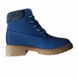 As Mulheres de Moda de Alta Qualidade Sapatos de Calçado de Couro PU Casual Botas (AL2712)