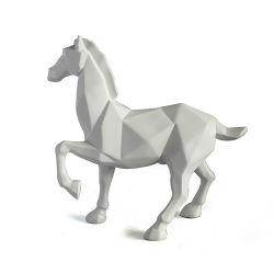 Unicorn personnalisée 3D de la résine de Sculpture de chevaux Figurines pour décoration maison