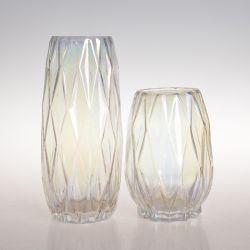 Großhandelsdekoratives kundenspezifisches Hauptmittelstück-dekorative freie Glasblumen-Glas-Vasen