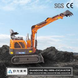 2021 Nuevo Modelo de 1 tonelada Escavadeira Nuevo Chino Pequena excavadora de cadenas