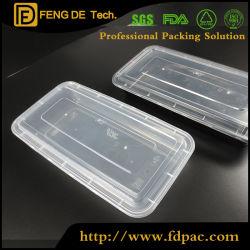 3 parti BPA stabilito liberano il contenitore di memoria chiuso ermeticamente di plastica libero dell'alimento con i coperchi
