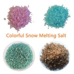 الجليد / ذوبان الجليد الملح من مختلف الألوان لطريق / حديقة / طريق سريع / مطار / ساحة / ملعب للأطفال