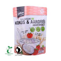 Eco Friendly à fermeture ZIP biodégradable et compostable sac en plastique de l'APL l'emballage alimentaire