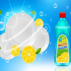 Prodotto di pulizia personalizzato di buona qualità Dish Lavaggio liquido per lavare piatti, frutta e verdura