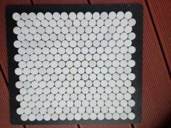 Goedkoop Mozaïek voor de Badkamers van de Keuken en de Tegel van de Muur en Hexagon Tegel met Materiaal van het Witte Marmer van Carrara