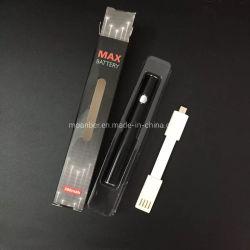 Bogo Lo preriscalda le batterie elettroniche variabili delle sigarette 400mAh del filetto VV di tensione 510 della penna del vaporizzatore della batteria