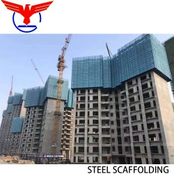 Materiale da costruzione acciaio 13.5 M altezza Auto-Climbing ponteggi per Costruzione di Constructon