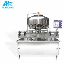 패킹 생산 라인 (QS-12)를 가진 작은 수용량 광수 병조림 공장 또는 액체 병에 넣는 선
