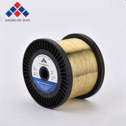 EDM de latón de corte ecológico en el cable de 0,10, 0,15, 0,20, 0,25, 0,30 mm EDM de electrodos de alambre de latón Cuzn40