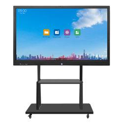 Wireless 65 polegadas de tela de toque digital inteligente quadro branco interativo com WiFi, educacionais, TV, Conferência