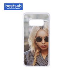 ملحق هاتف محمول S10e من Samsung S10e مع إدخال بدون إخراج (بلاستيك، أبيض)