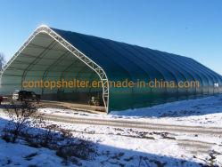 Для использования вне помещений промышленных ПВХ ткани палатки для хранения складские здания из сборных конструкций в области жилья