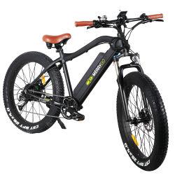 دراجة كهربائية من نوع Lithium ذات محرك خلفي مقاس 26 بوصة بدون فرشاة بقدرة 750 وات