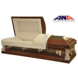 새로운 도착 18ga 장례식 금속 관 및 관