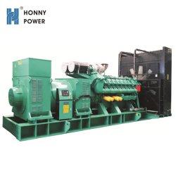 2400 kw 3000kVA gerador diesel a alta tensão 11kv com transformador