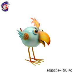 Décoration de jardin en métal Vente chaude Animal Figurines Bird