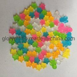 Stukken van het Spel van de Vorm van de Ster van de Leveranciers van China de Plastic voor het Spel van de Raad