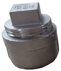 스테인레스 스틸 304/316, 파이프 피팅, 수 피팅, 사각 헤드 플러그
