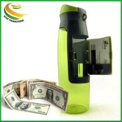 Commerce de gros 750ml Bouteille en plastique sans BPA PE Logo personnalisé Sports Bouteille d'eau