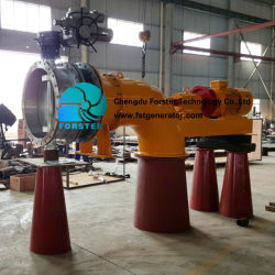 El ahorro de energía del generador de rueda de agua tubular