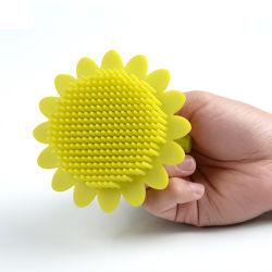 2020 Massagem corporal populares à prova de vibração / Silicone Escova de Limpeza