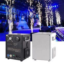 650W DMX512 ワイヤレスリモート Fireworks Spark コールドマシン
