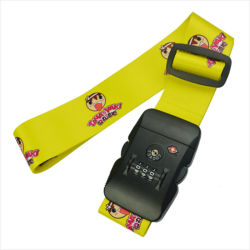 Os Tas promocionais Bloquear Sala cinta, Tas impresso bloquear as correias de bagagens