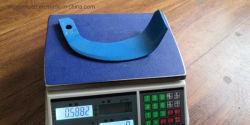 Máquina de corte de faca Lâmina de discos de partes separadas de máquinas