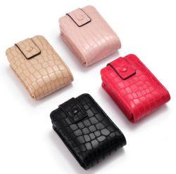 Modifica su ordinazione professionale dei bagagli del sacchetto di immagazzinamento in il raccoglitore di modo del cuoio genuino di serie