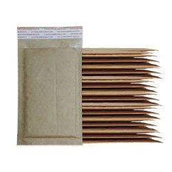 卸し売り注文の印刷物 Kraft Honeycomb の波形封筒メーラーペーパーは堆肥化可能 ポリバブルメーラー封筒