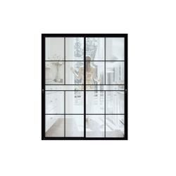 نافذة زجاجية من الألومنيوم/الألومنيوم وباب ذو تصميم كاسمنت/بزوغ/طي ثنائي/منزلق/فتح ثابت