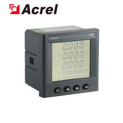 Acrel RS485 Modbus RTUの安い三相3p3w 3p4w LCDの表示パネル取付けられたAC Multifuctionプログラム可能な電気デジタル力メートルエネルギーメートル