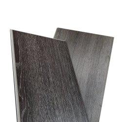 Venta caliente Baldosa de vinilo resistente al agua del piso de tablones de plástico de tamaño estándar pegamento seco abajo suelo volver