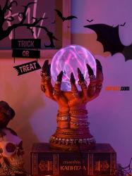 Decorações Dia das Bruxas Iluminação luminoso Bar Luzes e ambiente de festa, Luzes de cena as escoras de decoração decoração Desktop Props Brinquedos candeeiro de mesa