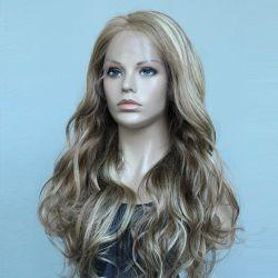 100% Braziliaanse Maagd menselijke Hair Lace Front Wigs Hair System Voor witte vrouwen