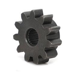 Ingranaggio di avviamento a doppia ruota dentata in acciaio e albero