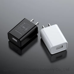شاحن USB قياسي على الحائط من UL بقدرة 5 فولت 2 أمبير مع شاحن UL US 10W High Quality for Mobile Phone (جودة عالية 10W في الولايات المتحدة للهاتف