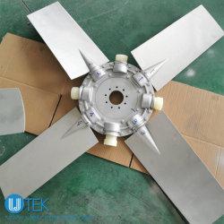 Grande ventilatore assiale di alluminio del diametro 9W per il motore/radiatore/motore diesel/la ventilazione/generatore