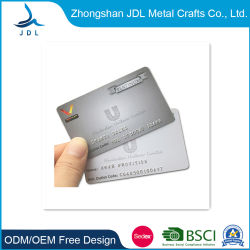 Neue Ankunft druckbare Edelstahl Metall Business Hotel Schlüssel RFID SmartID-Karte