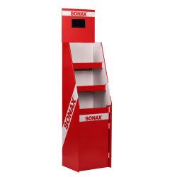 Горячая продажа картона напольная подставка для отображения на экране ЖКД/бумага пол подставка для дисплея для выставки