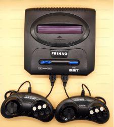 Retro giochi due Gamepads 500 della sezione comandi del video gioco della TV in 1 cartuccia tutta la barra di comando differente del gioco dei giochi TV