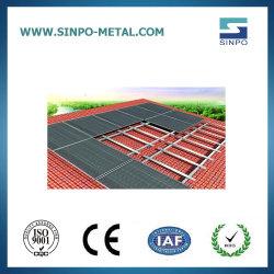 太陽電池パネルシステム太陽ブラケットを取付ける太陽タイル屋根